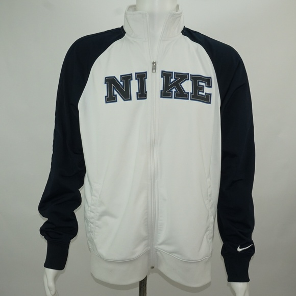 1c787ad6705ec MENS NIKE FULL ZIP UP SPELL OUT TRACK JACKET